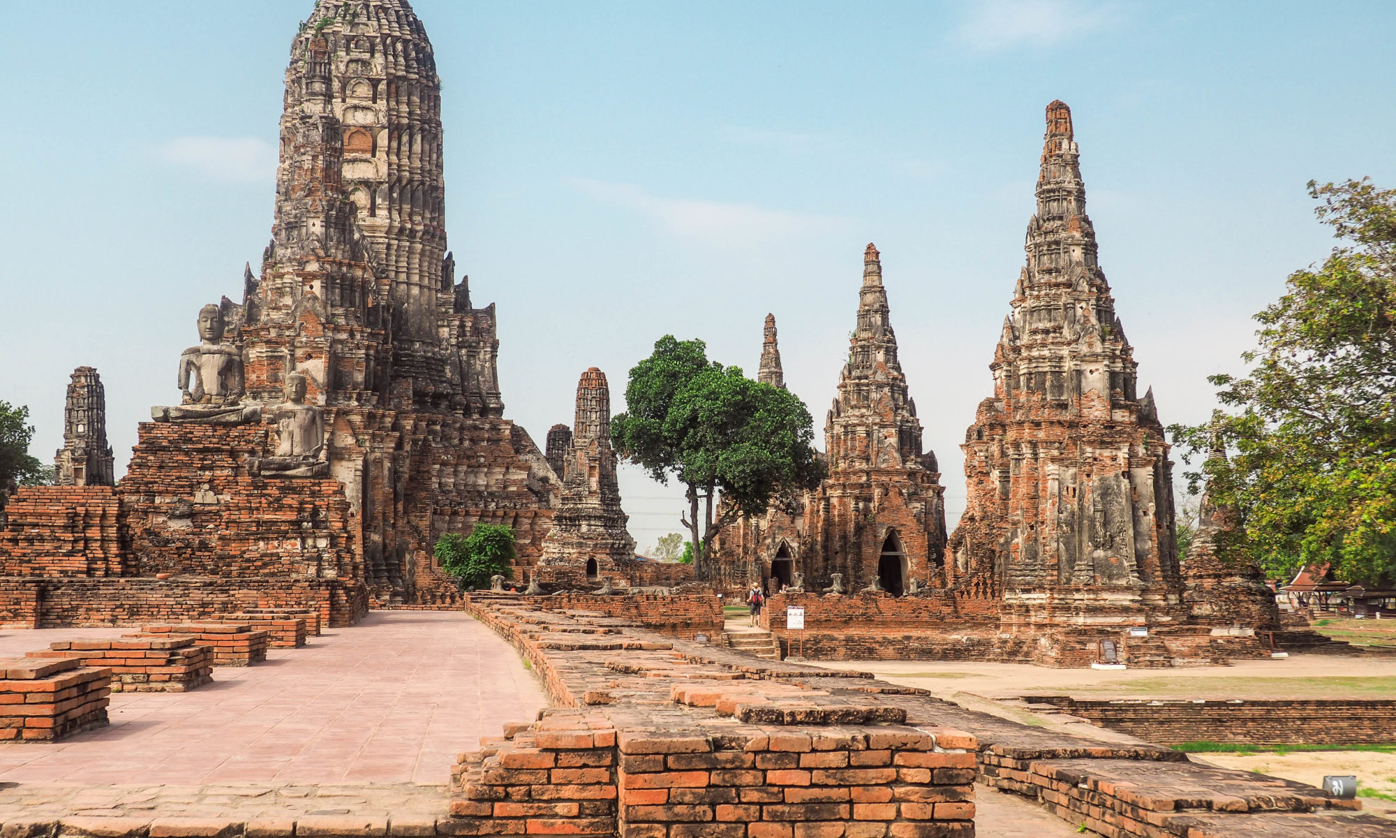 ayutthaya the old capital of thailand. Black Bedroom Furniture Sets. Home Design Ideas